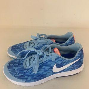 Women's Blue Nike Flex Experience Rn 5 Size 8.5